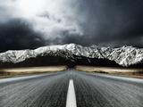 Route dégagée Reproduction photographique par  PhotoINC