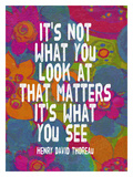 It's Not What You Look At Giclee Print by Lisa Weedn
