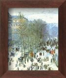 Boulevard des Capucines, c.1873 Poster by Claude Monet