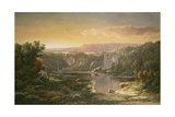 Mountain Lake Near Piedmont, Maryland, USA Giclee Print by William Louis Sonntag