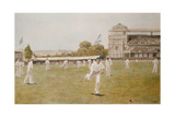 Cricket at Lords, 1896 Posters by William Barnes Wollen