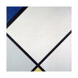 Composition I, 1925 Giclee Print by Piet Mondrian
