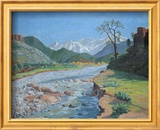 Valley of the Ourika Kunstdruck von Sir Winston Churchill