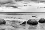 Beach Rocks Photographic Print by  PhotoINC