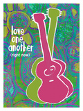 Love One Each Other Giclee Print by Lisa Weedn