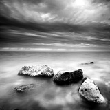 Rocks on Beach Photographic Print