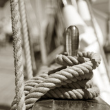 Sail Rope Photographic Print