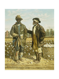 Two Elderly Cotton Pickers, 1888 Giclee Print by William Aiken Walker