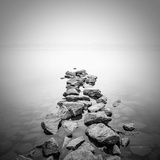 Piled Rocks Photographic Print