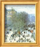 Boulevard des Capucines, c.1873 Posters af Claude Monet