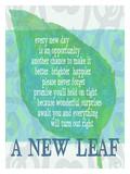A New Leaf Giclee Print by Lisa Weedn