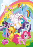 My Little Pony Metallic Foil Poster Pósters