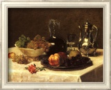 Still Life, Corner of Table Poster von Victoria Dubourg