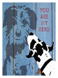 You Are My Hero Giclee Print by Lisa Weedn