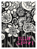 Feelin' Groovy Giclee Print by Lisa Weedn
