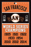 San Francisco Giants - Champions Plakater