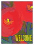 Te damos la bienvenida Lámina giclée por Lisa Weedn