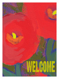 Welcome Giclee Print by Lisa Weedn