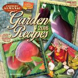 Farmers' Almanac Garden Recipes - 2016 Calendar Calendars
