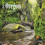 Oregon, Wild & Scenic - 2016 Mini Wall Calendar Calendars