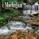 Michigan, Wild & Scenic - 2016 Mini Wall Calendar Calendars