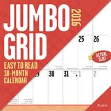 Jumbo Grid (large print) - 2016 Calendar Calendars
