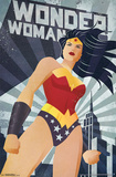 Wonder Woman - Constructivism Prints