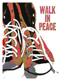 Walk In Peace Giclee Print by Lisa Weedn