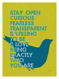 Stay Open Giclee Print by Lisa Weedn