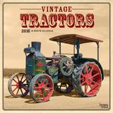 Vintage Tractors - 2016 Calendar Calendriers