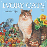 Ivory Cats by Lesley Anne Ivory - 2016 Calendar Calendars