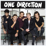 One Direction Global - 2016 Mini Wall Calendar Calendars