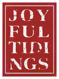 Joyful Tidings Red Giclee Print by Lisa Weedn