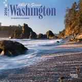 Washington, Wild & Scenic - 2016 Mini Wall Calendar Calendars