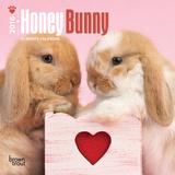 Honey Bunny - 2016 Mini Wall Calendar Calendars