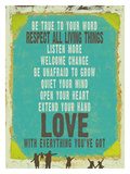 Love With Everything You Got Giclee Print by Lisa Weedn