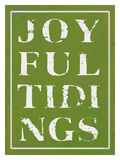 Joyful Tidings Green Giclee Print by Lisa Weedn