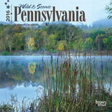 Pennsylvania, Wild & Scenic - 2016 Mini Wall Calendar Calendars