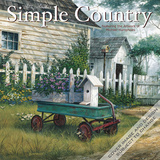 Simple Country: Artwork by Michael Humphries - 2016 Mini Wall Calendar Calendars