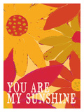 You Are My Sunshine Giclee Print by Lisa Weedn