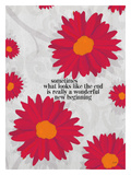 Sometimes What Looks Like Giclee Print by Lisa Weedn