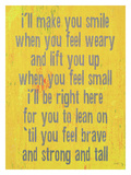 I'Ll Make Sure You Smile Giclee Print by Lisa Weedn