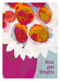 Think Good Thoughts Giclee Print by Lisa Weedn
