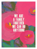 We Are A Family Giclee Print by Lisa Weedn