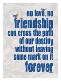 No Love No Friendship Giclee Print by Lisa Weedn