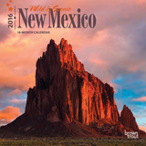 New Mexico, Wild & Scenic - 2016 Mini Wall Calendar Calendars