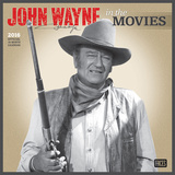 John Wayne in the Movies - 2016 Calendar Calendars
