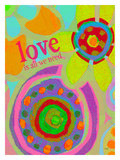 Love Is All We Need Giclee Print by Lisa Weedn