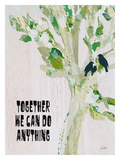 Together We Can Do Giclee Print by Lisa Weedn