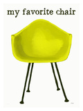My Favorite Chair Giclee Print by Lisa Weedn
